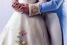 Parejas de Disney Pincipes y Princesas