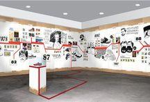 Timeline exhibition