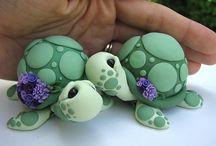 Želvičky z fondánu