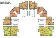 Estero Oaks Building Floor Plans / Our 7 Apartment Buildings Offer:  -1, 2, and 3 bedroom Models -Staircases with Semi-Private Entrances -Walk-in Accessibility -Attached and Detached Garages