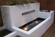 Garden fontain modernbahçe