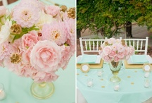 Mint, Blush, Gold-French Country / by Cloud Nine Events & Accessories