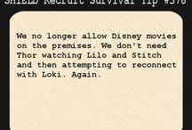 Survival Tips for S.H.I.E.L.D.