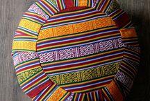 Floor Cushions / Zafu Meditation Cushions - Ottomans - Floor Cushions