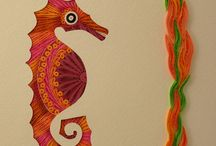 Quilling My Way -- folk art pieces / all my new folk art quilling designs