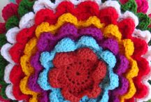 Almohadones a crochet / Almohadones súper coloridos!