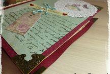 Mon scrapbooking / Mes créations en scrapbooking à retrouver sur mon blog homemadebysunny.canalblog.com