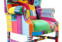 CRAZY upholstery ideas... / by Sharon White