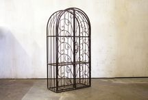 Wrought Iron Wall Cabinet