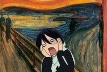 Munch scream LOL