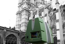 Westminster Abbey / #surveying the Garth - one of the 3 gardens at #WestminsterAbbey to identify #undergroundutilities and any other anomalies relating to the Abbeys organ bellows and historic culverts.