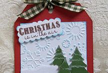 christmas tags / by Lavinia Dow