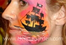 face painting piraat