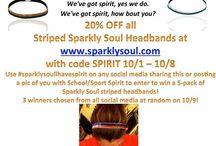 We've got spirit, yes we do. We've got spirit, how bout you? (cue cheer back...)