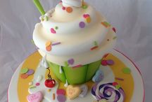 Bellos diseños de pasteles / Arte en hermosos pasteles / by Lau Gut
