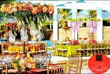 Wedding settings / Johanna Otero Events