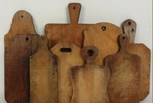 CUTTING BOARDS/WOODEN BOWLS/SPOONS/ROLLING PINS / by Monica Stoddard
