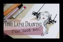 Speed Drawing/Painting Videos