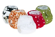 Fluffy bum gorgeousness- cloth nappies / A selection of my favourite reusable nappies- too lovely to hide under clothes!