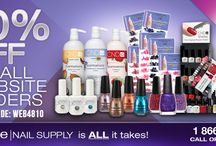 Coupons / The best coupons and discounts for nail polish and nail art related products.