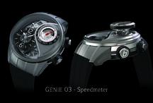 Génie 03 Speedmeter / World's first mechanical speedmeter