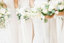 White Weddings / Whether it's a modern winter wedding or a classical spring wedding, an all-white color scheme works for any season. Before you second guess avoiding this non-traditional move, take a look at how beautiful your white wedding can and will be.