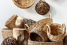 Baskets for decor its very excotic..