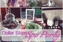 {Styling} Spa Party