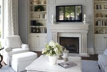 Home Decorating Ideas:  Living Room / by Mandy Bailey