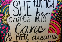 canvas quotes / by Lauren Fash
