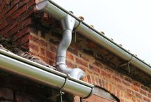 Zambelli Steel Guttering / Zambelli Galvanised Steel Guttering is available now at Lincolnshire Lime. Forget plastic gutters, steel guttering is a much stronger, more beautiful alternative.