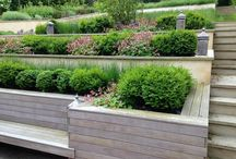 Sloping Garden / A family garden on a steeply sloping site