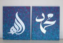 Calligraphy Canvas Art