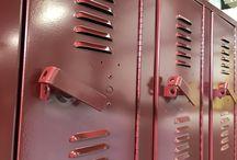 St. Michael-Albertville HS - St. Michael, MN #DeBourgh #lockers / #Corregidoor #MaroonPeaks #SentryOneLatch #LouveredVentilation #PianoHinge #ClosedBase #SolidVentilation #DeBourgh #Lockers