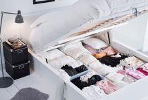 Soveværelse sommerhus