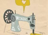 Dibujo maquina de coser