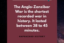 History Shots / Fun facts from history condensed into an easily consumed format. Almost as fun as tequila shots.