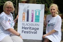 Blackburn Heritage Festival Preparations / Preparations for the 2014 Blackburn Heritage Festival, taking place on 13 & 14 September 2014