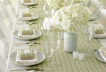 table settings / by Sylviane Mathey