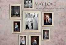 Wall Portrait Display Ideas / by Shannon Marie Phillips-Long