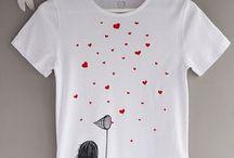 zdobená trička