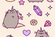 Pusheen the cat! :)