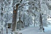 paisagens  na neve