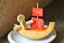 fun foods / by Stephanie Engert