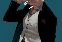 gentleman(half-len)