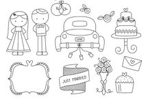 wedding illustrations & doodles