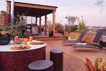 Home ideas - Rooftop deck / by Jessi Pfeltz