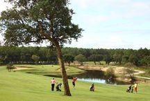 Golf de Moliets / Retrouvez en image les plus beaux parcours de Golf en Aquitaine : l'Airial (9 trous) et la Forêt+Océan (18 trous) de Moliets