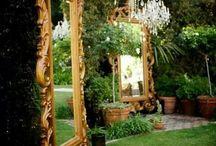 Mirrors / Mirrors, light, vanity, interior design, home decor