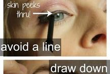 Eyeliner Tips / Eyeliner Tips And Tricks For Beginners.  Step By Step Eyeliner Tutorials And Hacks Using Eyeshadow And Liner To Make Your Eyelid Look Awesome.  Great For Gel, Liquid, Winged, Pencil And Natural Looks As Well As Tips For Bottom Or Lower Lids.  Bring Out Your Blue Or Green Eyes With The Right Eyeshadow And Liner.  For Brown Eyes, We Cover The Best Eyeliner Tips And Give Special Tricks For Glasses.  Tips On Applying Eyeliner And How To Prevent Smudge For Natural Long Lasting Eye Makeup Looks.
